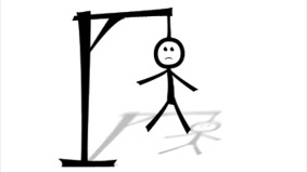 picture of a hangman drawing