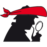 profile of sherlock holmes shadow